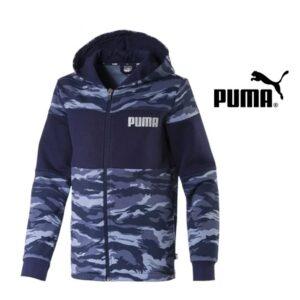 Puma® Casaco Camo Aop Hoody Fl B | Tamanho 13- 14 Anos