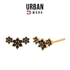 Urban Work Brincos de Aço Inoxidável KST2180CZ