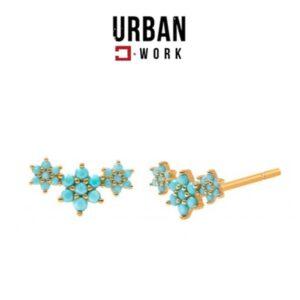 Urban Work Brincos de Aço Inoxidável KST2180N