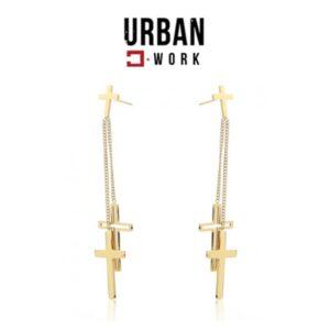 Urban Work Brincos de Aço Inoxidável KST2162