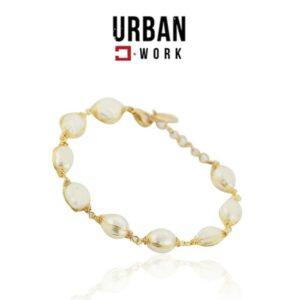 Urban Work Pulseira de Aço Inoxidável Rosa Gold BST1019