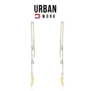 Urban Work Brincos de Aço Inoxidável  KST2213