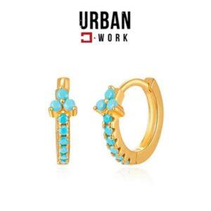 Urban Work Brincos de Aço Inoxidável KST2183N