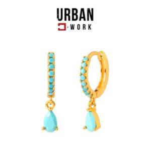 Urban Work Brincos de Aço Inoxidável KST2036N