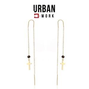 Urban Work Brincos de Aço Inoxidável KST2136
