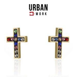 Urban Work Brincos de Aço Inoxidável  KST2101