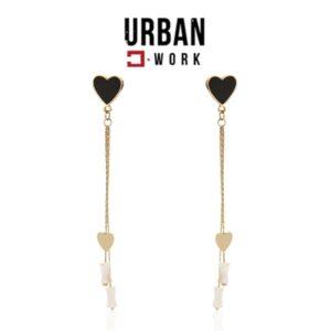 Urban Work Brincos de Aço Inoxidável KST2009