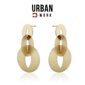 Urban Work Brincos de Aço Inoxidável KST2078