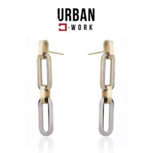 Urban Work Brincos de Aço Inoxidável KST2077