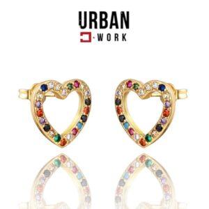 Urban Work Brincos de Aço Inoxidável KST1841