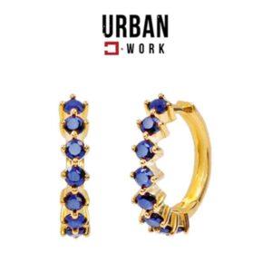 Urban Work Brincos de Aço Inoxidável  KST2055N