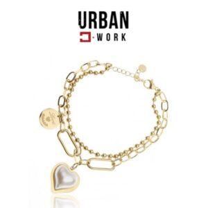 Urban Work Pulseira de Aço Cirúrgico BST1143