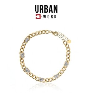 Urban Work Pulseira de Aço Cirúrgico BST1146
